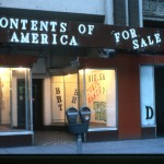 Contents Of America For Sale/The Information Store